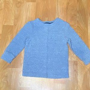Boys light blue long sleeve henley